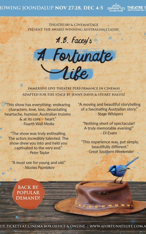 A.B Facey's A Fortunate Life